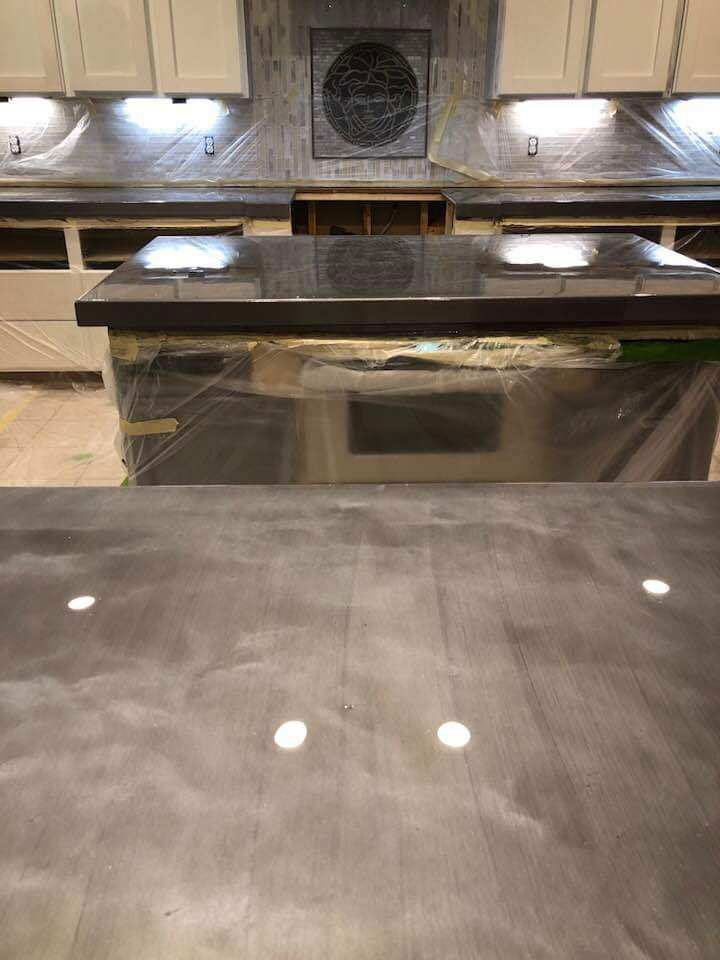 Epoxy Resin Countertop Finished